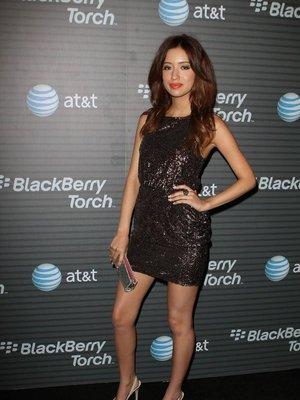 Звездные наряды на вечеринке Blackberry.